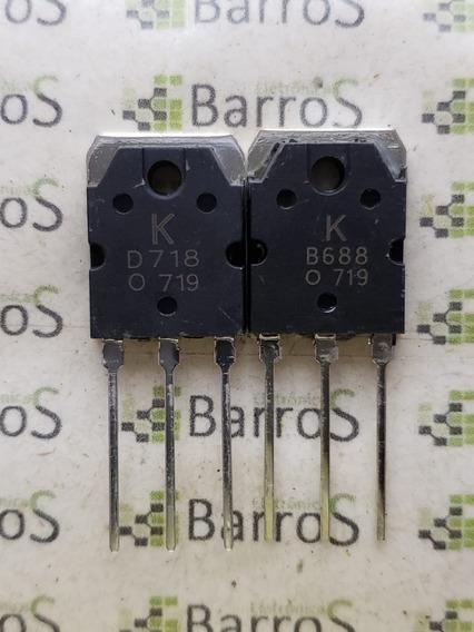 Transistor D718 B688 - Transistores [Promoção] no Mercado