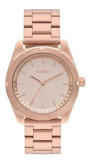 Relógio Euro Feminino Rosê Eu2036ynv/4j