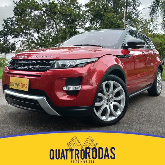 Land Rover Evoque - 2013/2013 2.0 Dynamic 4wd 16v Gas 4p Aut