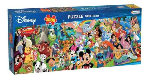 Imagen 1 de 4 de Puzzle 1000 Pzas Mundo Disney Rompecabezas Personajes Mickey