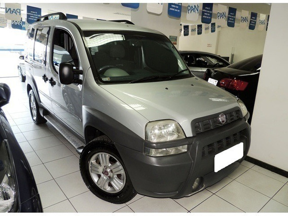 Fiat Doblò Adventure 1.8 8v Flex 4p Manual 2008 Prata