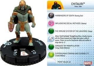 Heroclix - Chitauri #006a - Guardians Of The Galaxy - Marvel
