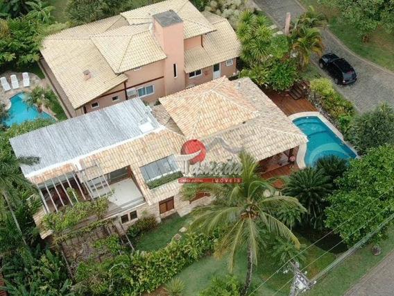 Casa Com 5 Dormitórios À Venda, 1000 M² Por R$ 1.880.000 - Toque Toque Pequeno - São Sebastião/sp - Ca0353