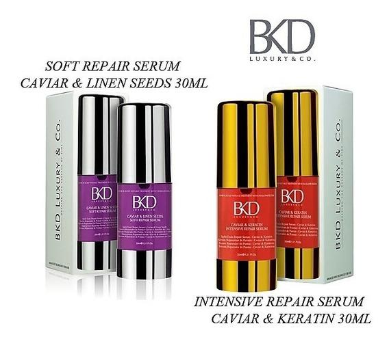 2 Serum X 30 Ml Bkd Soft & Intensive Repair/ Reparador