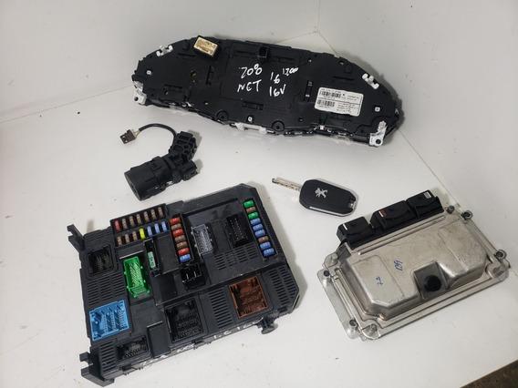 Kit Code Injecao Linha Peugeot 208 Automatico (compare)