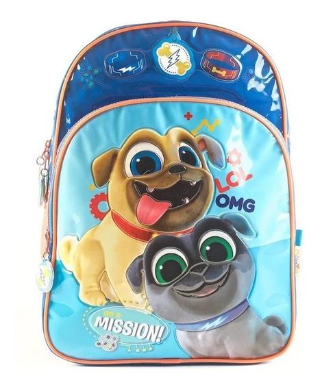 Mochila Puppy Dog Pals Espalda 16 Wabro