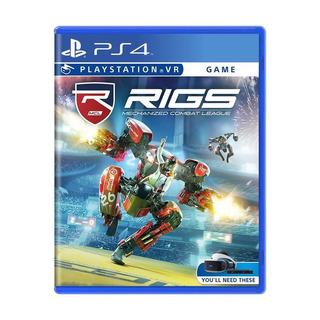 Rigs Mechanized Combat League Ps4 Vr Mídia Física