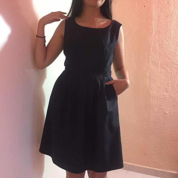Vestido H&m Formal - Casual, Talla 8 (ch-m) Impecable!