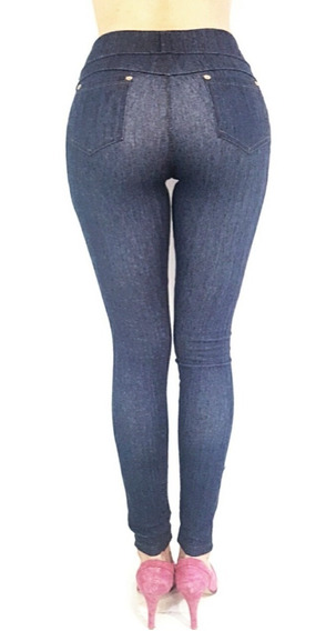 Calzas Simil Jean Super Elasticas !! Talles 7, 8, 9 Y 10!!