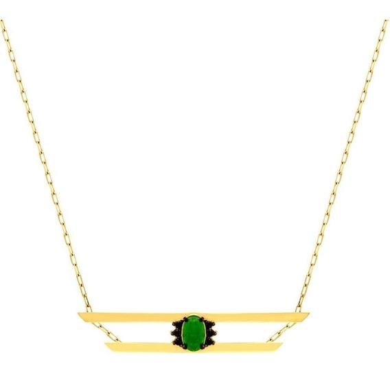 Colar Viridi Ouro 18k Jade Gr375