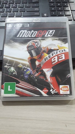 Jogo Moto Gp 14 Para Ps3 Midia Fisica Original