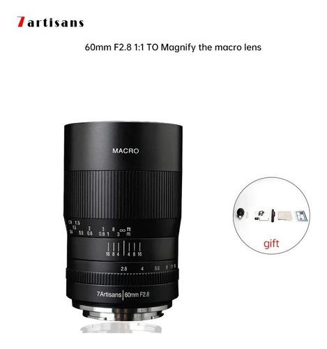 Lente 60m Macro 2.8 Nikon Z  Foto Manual