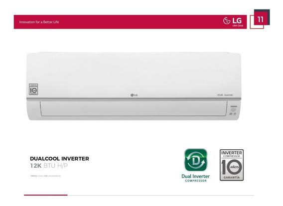 Aire Acondicionado Split Lg Dual Cool Dual Inverter 3000 Fg