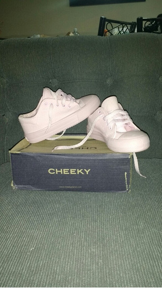Zapatillas Lona Cheeky Talle 30