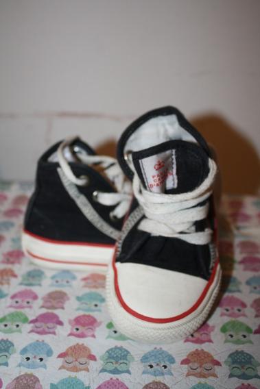 Zapatillas Botita De Lona