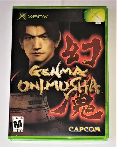Genma Onimusha Original Completo Xbox Classico Cr $15