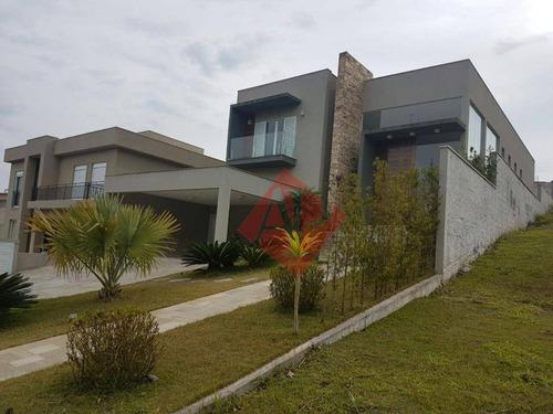 Imagem 1 de 16 de Casa Com 4 Dormitórios À Venda, 540 M² Por R$ 3.600.000,00 - Campos Do Conde (alphaville) - Santana De Parnaíba/sp - Ca0325