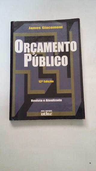 Livro - Orçamento Público - James Giacomoni