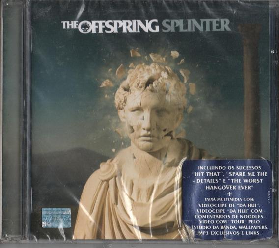Cd The Offspring Splinter + 01 Bônus Faixa Multimídia Lacrdo