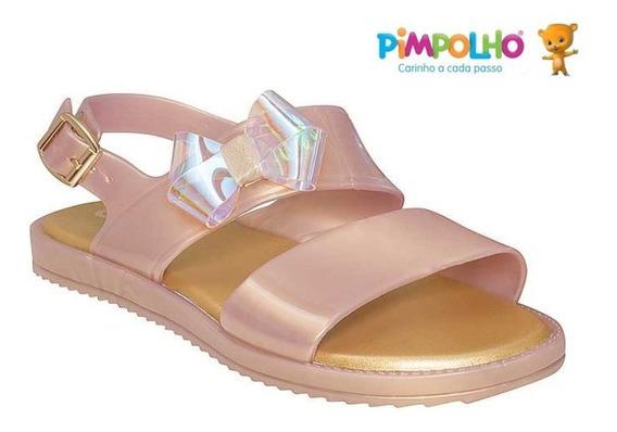 Sandália Feminina Palmilha Conforto Pimpolho Colorê 40044