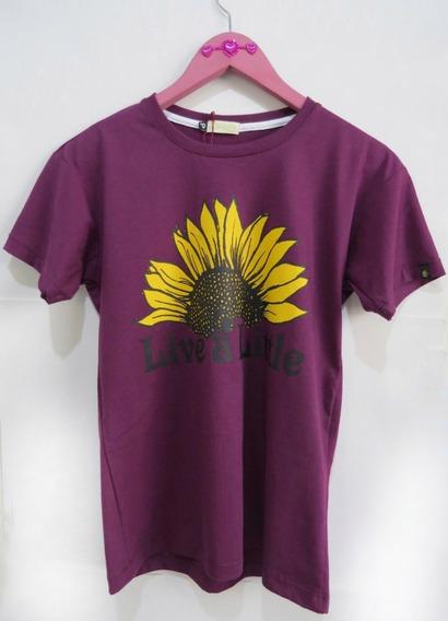 Baixou O Preço!!! T-shirt Flower