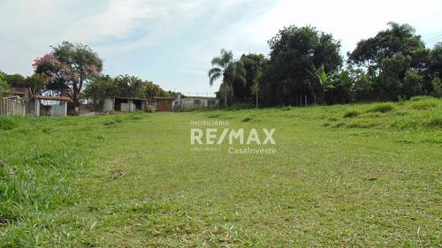 Terreno À Venda, 3200 M² Por R$ 310.000,00 - Pavão (canguera) - São Roque/sp - Te0108