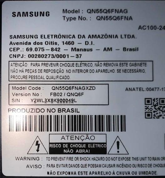 Tv 55 Qled Smart Uhd Samsung Q6fn (quebrada)