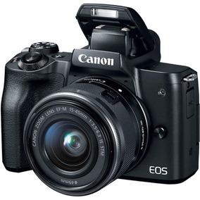 Camera Canon Eos M50 Kit 15-45mm Preto S/j
