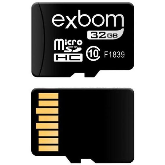 Cartão Micro Sd 32gb Para Celular Tablet Câmera Ip Promoção