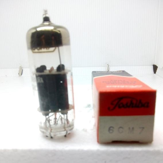 Válvula Eltrônica 6cm7 Toshiba New Old