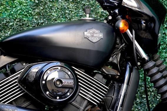 Harley Davidson Street 750cc Lista Para Rodar