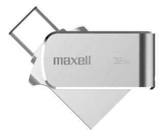 Pendrive Maxell 32gb Usb 3.0 Otg Conector Tipo C