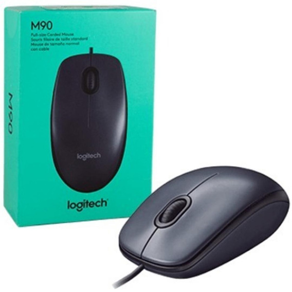Mouse M90 Usb Óptico Original