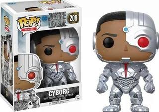Funko Pop 209 Cyborg Justice League
