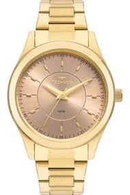 Relógio Technos Feminino Boutique Original Nota 2035mns/4j