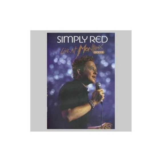 Simply Red Live In Montreux 2003 Dvd Nuevo