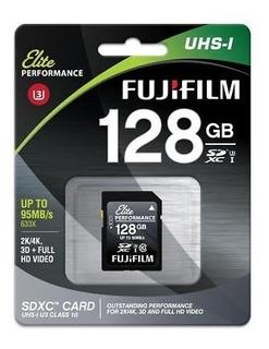 Tarjeta De Memoria De Fujifilm Elite Performance De 128 Gb U