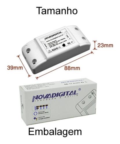Interruptor Wifi Automação Residencial Original Nova Digital