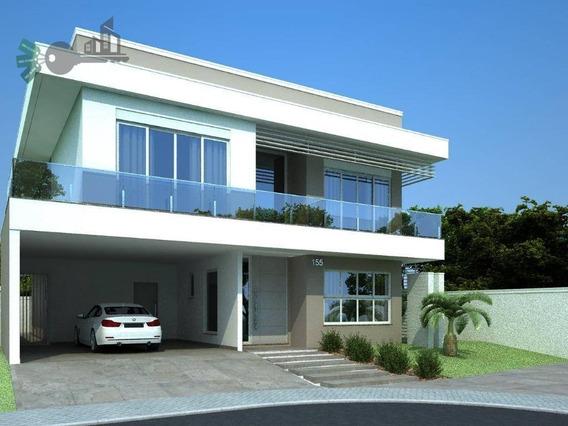 Casa Condomínio Fechado Nova, À Venda, Santa Felicidade, Curitiba. - Ca0031