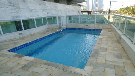 Apartamento Em Maracanã, Praia Grande/sp De 71m² 2 Quartos À Venda Por R$ 270.000,00 - Ap340429