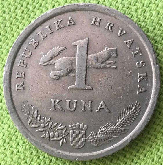 Croacia : Moneda De 1 Kuna 1996