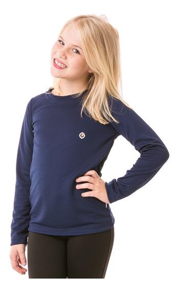 Camisa Feminina Extreme Uv Infantil C/ Proteção Solar Dry