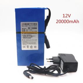 Bateria De Litio Recarregável 12v 20000 Mah Pronta Entrega