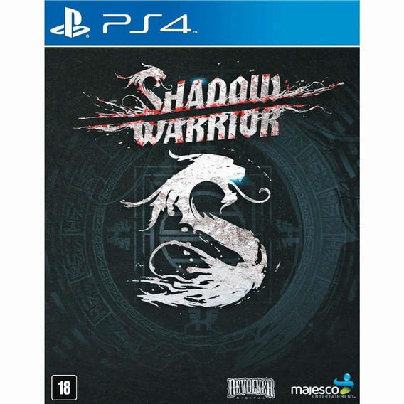 Jogo Shadow Warrior (novo) Ps4