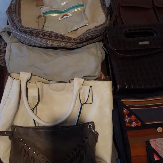 Lote De Carteras,mochilas Y Billeteras