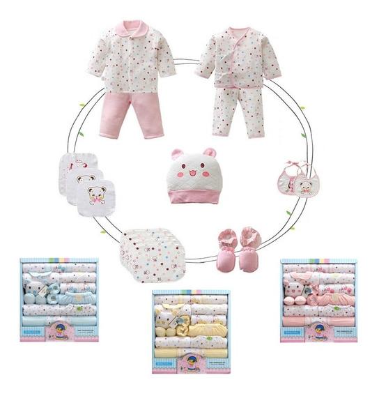 Kit Presente Recém Nascido Maternidade Chá Fralda Roupa Bebê