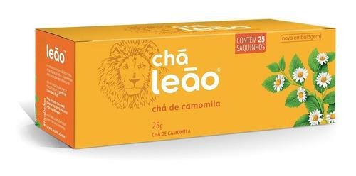 Imagem 1 de 1 de Chá Leão Ervas - Camomila Em Sachês - 25ud