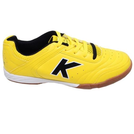 Chuteira Futsal Precision Trn Kelme Amarela