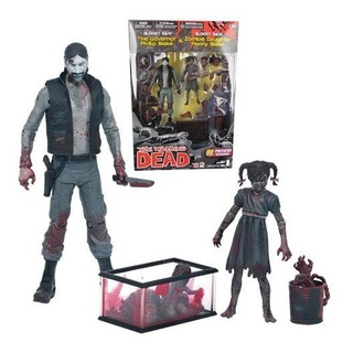 Governor & Zombie Penny The Walking Dead Comic Sheldortoys