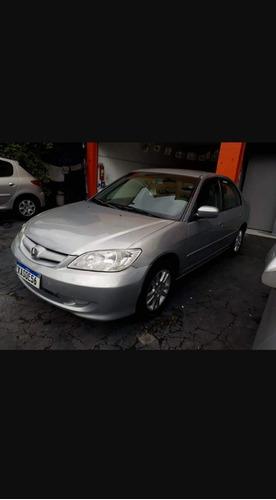 Imagem 1 de 5 de Honda Civic 2005 1.7 Lxl Aut. 4p 115 Hp